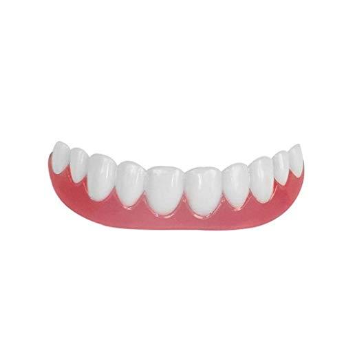 Lorsoul Lächeln Comfort Fit Flex Falsch Zahnersatz Zähne Top Cosmetic Dental Dental Comfortable Silica Gel Ober Row -