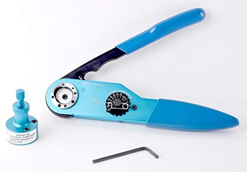 PRECISE YJQ-W2A-N M22520/1-01 Mil-spec Crimper Tool Frame Standard adjustable four indent crimp tool compatiable with Astro/DMC AF8