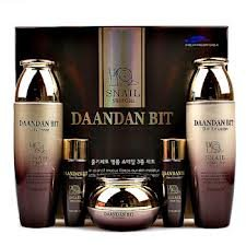Korean Cosmetics_Daandanbit Snail Stem Cell 3pc Gift Set