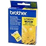 Brother LC800Y - Cartucho original, amarillo