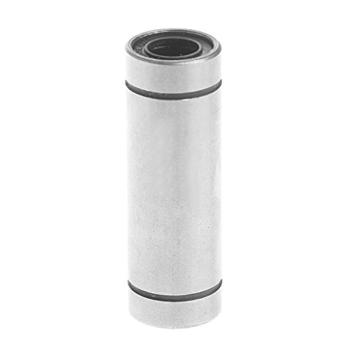 JENOR 1 STÜCK LM8UU 8mm Welle CNC Linearlager Ball Buchse 8x15x45mm Für 3D Drucker -