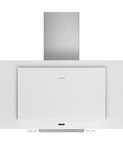 Siemens LC97FLP20 Dunstabzugshaube/Kaminhaube/89 cm/LED-Beleuchtung/Intensivstufe