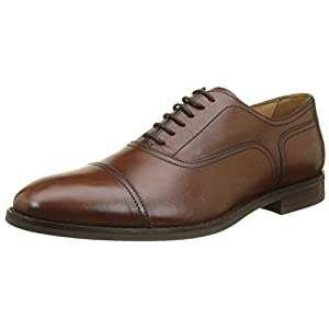 Geox Men U Hampstead C Oxfords, Brown (Cognac C6001), 10.5 UK (45 EU)