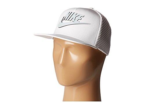 Nike U NSW CAP Seasonal MESH PRO Berretto da tenis per Uomo, Bianco (White / White / Pure Platinum), Unica