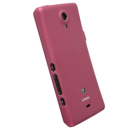 Krusell Color Cover für Sony Xperia T pink