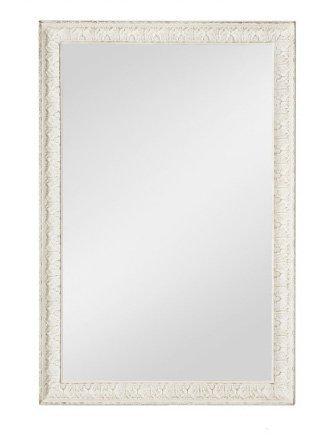 Specchiera di legno stile vintage con fregi disponibile in diverse rifiniture L'ARTE DI NACCHI SP-156
