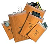 Jiffy Gepolsterte Versandtaschen DIN A4 (Größe 4, 225 x 483 mm), 100 Stück