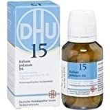 BIOCHEMIE DHU 15 Kalium jodatum D 6 Tabletten 200 St Tabletten