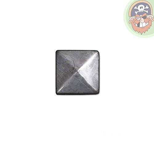 Pfostenkappe Pyramide Zaunkappe aus Metall für Pfosten 9x9 cm von Gartenpirat®