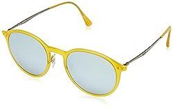 Ray-Ban Mirrored Round Sunglasses (0RB422461863049)