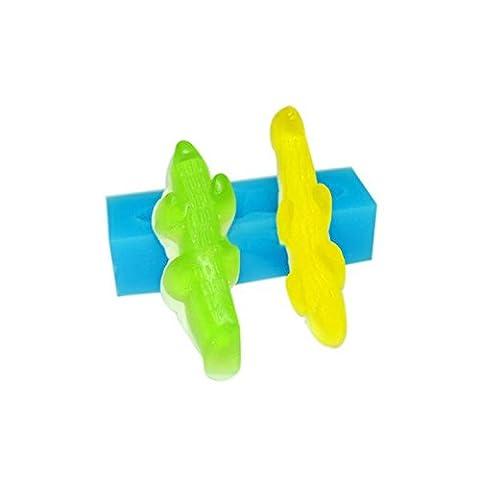 Moule Silicone pour FIMO - Bonbon Crocodile