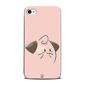 AllDeviceSkin Pokémon Character High Quality Print Hard Back Case Cover for Apple iPhone 4 (Design-Pokemon-173)