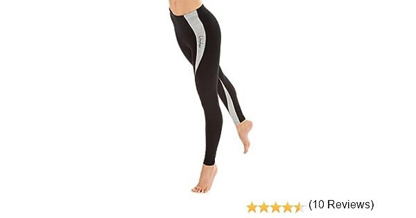 Le Sport Winshape Legging//Collant de Sport /à Rayures pour Femme pour Le Fitness Les Loisirs