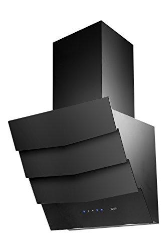 KAFF 60 cm 1180 m3/hr Auto Clean Chimney (BEVERLY DHC 60, Cassette Filter, Touch Control, Steel & Black)