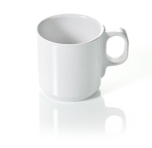 Melamin Kaffeebecher Kaffeetasse Tasse Teetasse Becher 0,25 Liter