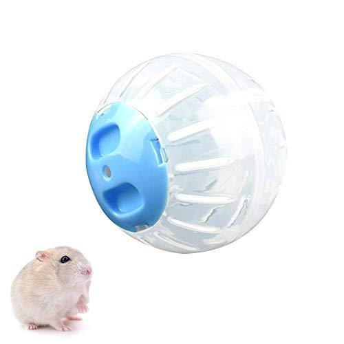 AOLVO Dwarf Hamster Ball, Eseguire Esercizio Ruote Palla Criceto Pista per Piccoli Animali, plastica Cute Pet Rat Mouse Gerbil Corsa Giocare Giocattoli Divertenti