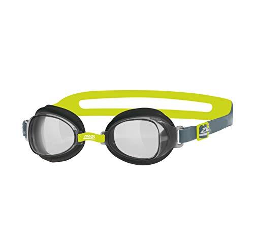 Zoggs Gafas de natación, Adultos Unisex, Negro/Lima/Humo, una una talla