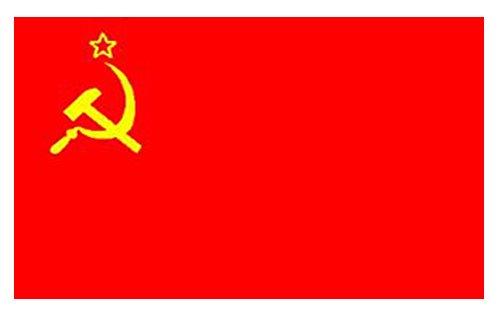Bandera Rusa Martillo y Hoz 1.5m x 0.9cm