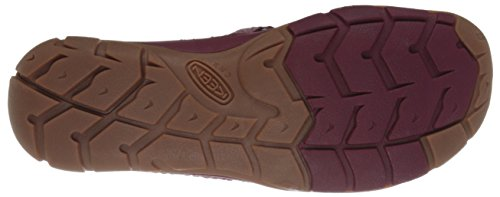 Keen Rivington CNX Criss-Cross Synthétique Mary Janes 6838 Beet Red