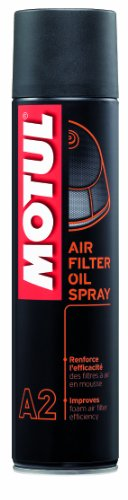 MOTUL 102986 A2 Air Filter Oil Spray, 400 ml