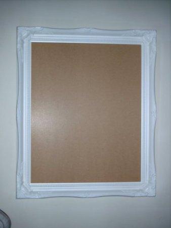 Große Rechteckige Glas (Frames by Post Weiß Shabby Chic Antik Stil rechteckig Poster Bilderrahmen, mit Pilkington-Glas Größe: 40,6x 50,8cm (40cm x 50cm))