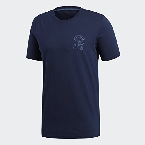 Manchester United-fan Gear (adidas Soccer FC Barcelona Tee, Herren, Soccer Manchester United FC Tee, Collegiate Navy, Medium)