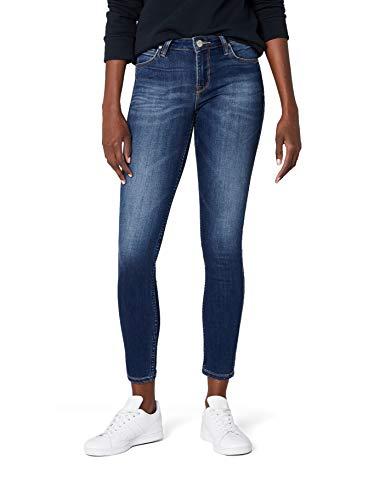 Lee Damen Skinny Jeans Scarlett, Blau (Night Sky IM), W31/L33 (Herstellergröße: 31)