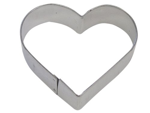 Heart Shaped 4 Inch Cookie Cutter