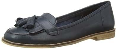Bertie Womens Lako Loafers Navy 3 UK, 36 EU