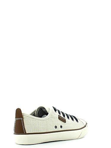 Lumberjack , Chaussures de ville à lacets pour homme Bleu Jeans 15 Blanc - Bianco