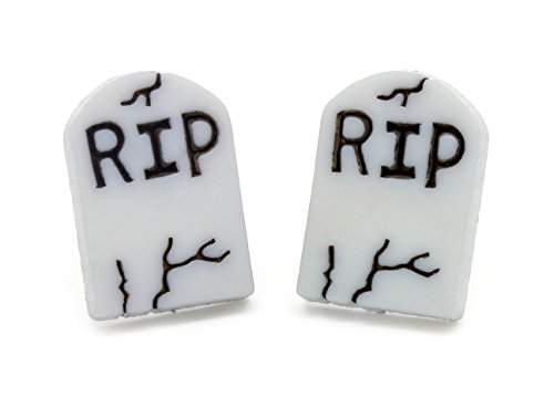 bluebubble Mini Trick or Treat Rip Grave Stein Ohrstecker Ohrringe mit (Dress Fancy Teen)