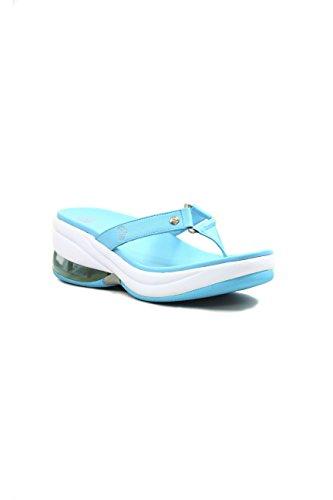 Fornarina sandale tong Bleu - bleu