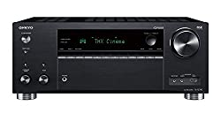 Onkyo TX-RZ740(B) 9.2 Kanal AV Receiver (THX Cinema Sound, 185 Watt/Kanal, Multiroom, Dolby/DTS: X, Wlan, Bluetooth, Streaming, AirPlay2, Musik App, Spotify, Tidal, Deezer, Internet Radio) Schwarz