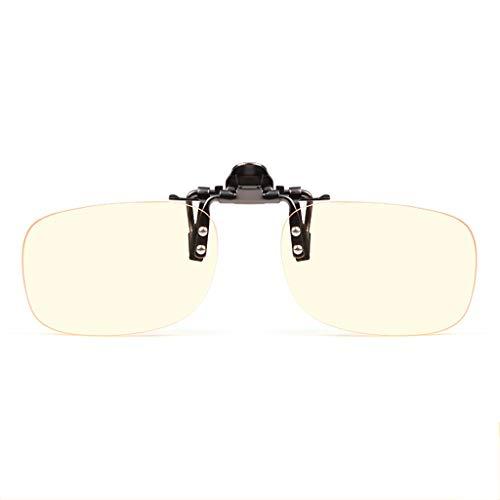 Blaulicht Schutzbrille Blaues Licht, das Gläser blockiert Strahlenschutzclip Anti-Myopie Gläser Clip weibliche Handy Spiel Esports männliche Computerschutzbrillen ohne Rahmen ZHAOSHUNLI (größe : M)