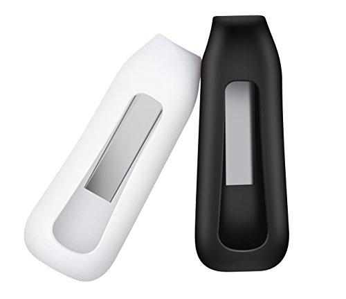 BlueBeach® 2 Stück Ersatz Clip Halter für Fitbit ONE Activity Tracker - (Schwarz und Weiß)
