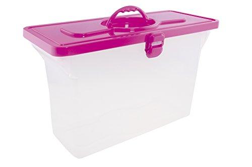 Dello Organisation stapelbar Koffer, pink (0331.q.0003)