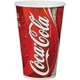 Coca Cola Cup–450ml (1000Stück)–Ideal für Partys, Grillabende, Picknicks und Veranstaltungen