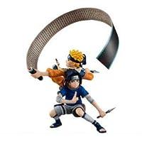 Naruto Shippuuden Uzumaki Naruto and Uchiha Sasuke Action Figure Toy For Collection
