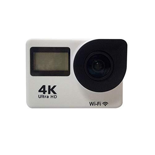 """Hevin FHD 1080P 30fps 12 Milioni Pixel Sport Mini DV Action Camera 2\""""4K 170 ° grandangolo Obiettivo 30M Impermeabile WiFi Telecomando Sport Outdoor (Nero),White"""