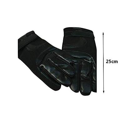 MHYNLMW Schutzhandschuhe Handschuhe, Durable Haustier-Handschuhe Leder Oberfläche Anti-Bite & Kratzfeste Eichhörnchen