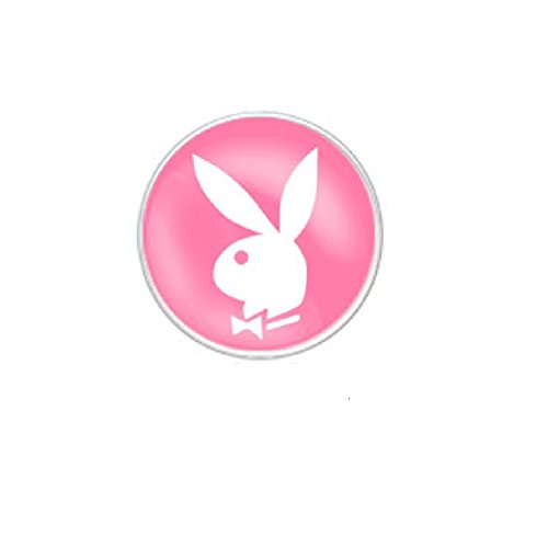 Piercing Ombelico Logo Playboy (Playboy Bunny/Pink Background) - Playboy Pink Bunny