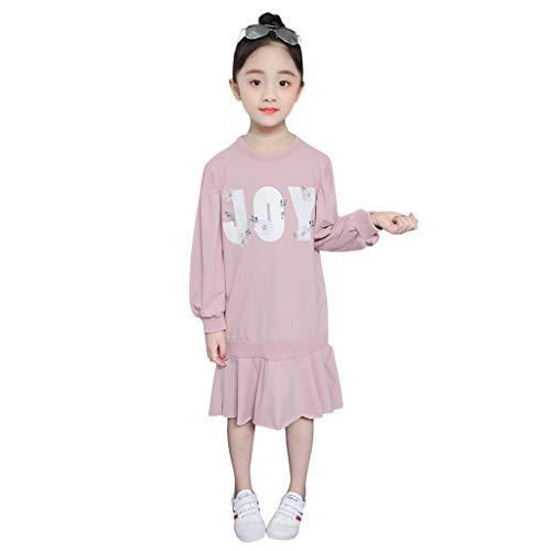 Livoral Baby Jungen Mädchen Kapuzenpulli Hosen Trainingsanzug Hoodie Outfits Set Halloween Kleidung 0-24Month(Rosa,120) (Kinder Yoda Kostüm Hoodie)