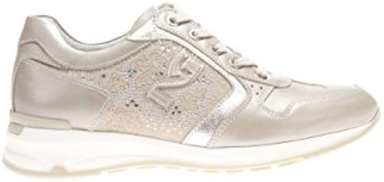 Nero ModeB01CMKQQ76Parent Giardini P615092D Chaussures Femme-Cuir-505 Baskets ModeB01CMKQQ76Parent Nero 0889ee