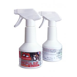 SPRAY EDUCATEUR REPOUSSE CHIENS ET CHATS INTERIEUR 250 ML
