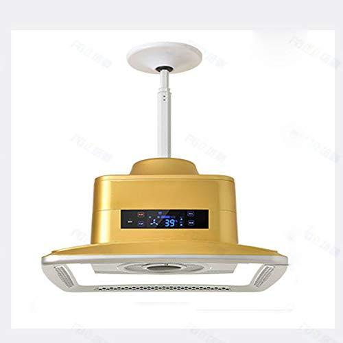 SANKE Purificador de Aire de la lámpara Pendiente de la lámpara, LED Luz Fumadores Fumar Humo Música...