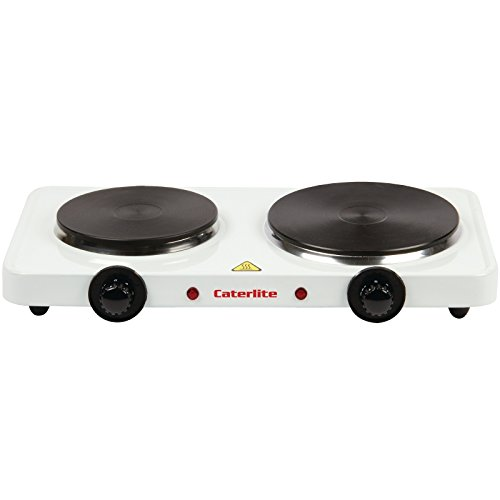31MO3LvyBzL. SS500  - Caterlite Electric Countertop Boiling Rings Double 67X460X270mm Kitchen