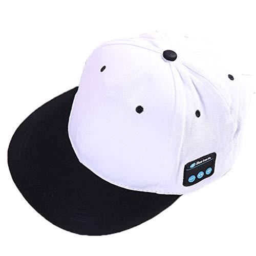 Direkte Mesh Cap (ZYX Smart Baseball Cap Saisonale Baseballkappe Outdoor Hat Männer und Frauen Print Cap Multi Besatzung Verwenden Sunshade Light Waschbar und Schnell Trocknen Freizeit Reisen Hip Hop Stil,White)
