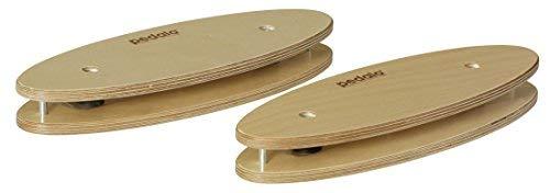 pedalo Fußwippen (Paar) aus Holz I Beinachsentraining I Fußkräftigung I Fußtrainer I Venentrainer I Beintrainer I Gleichgewicht