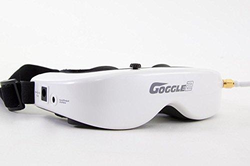 XciteRC 15003850 - FPV Racing Quadrocopter Furious 320 RTF mit Full HD Kamera, Videobrille Goggle V2, GPS, OSD, Akku, Ladegerät und Devo 10 Fernsteuerung, weiß - 4