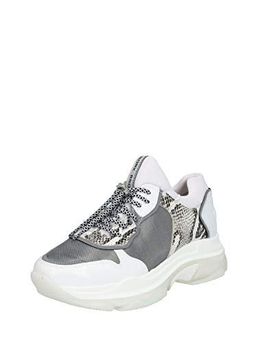 Bronx Damen Sneaker Low Baisley weiß 40